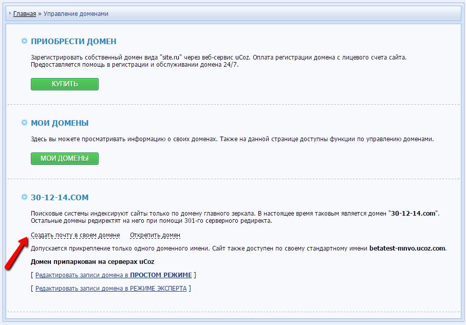 Свой сервис доменов как сделать